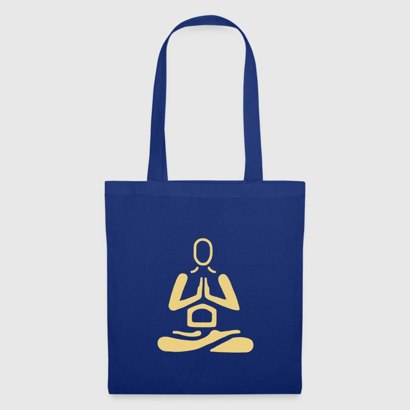 Yoga Lotussitz Namaste - Tote Bag