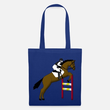 Show Jumping show jumping horse - Tote Bag