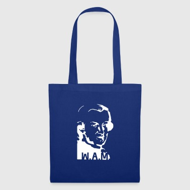 Mozart, white - Tote Bag