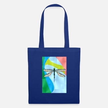 Dragonfly Colorful dragonfly - Tote Bag