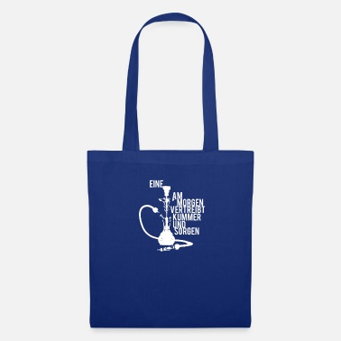 Funny Shisha in the morning dispels sorrow and worry - Tote Bag