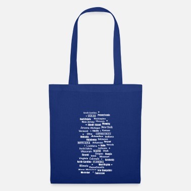 State United States of America United States of America states - Tote Bag