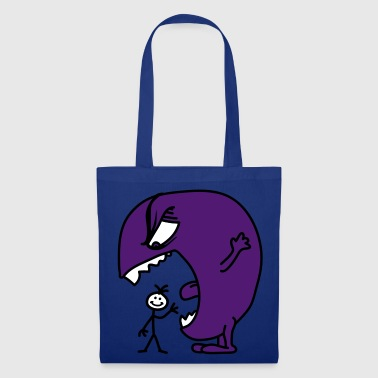 monster - Borsa di stoffa