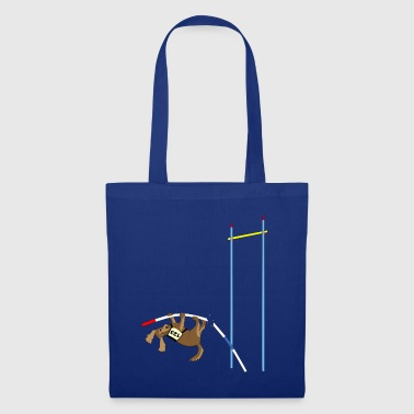 Pole vault  dog - Tote Bag