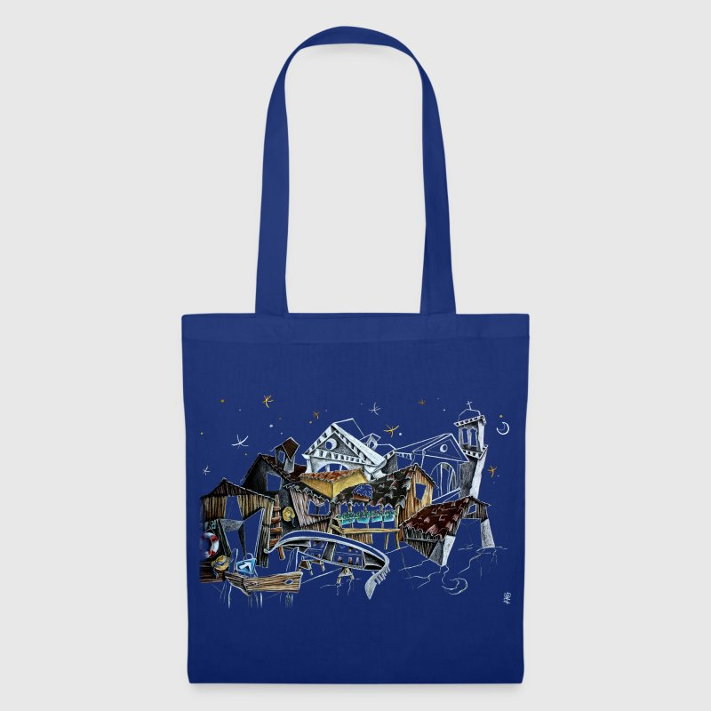 Venice T-shirts - Gondola Night Dream - Fashion Italy - Tote Bag