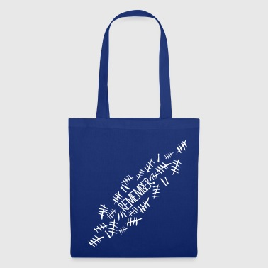 Doctor Who Remember Tally Marks - Tote Bag