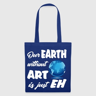 earthwith ART Planet Climate Design Museum - Tote Bag