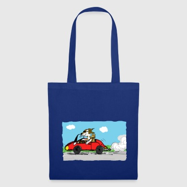 bolide et chien - Tote Bag
