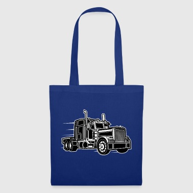 Camion / camion 03_schwarz blanc - Tote Bag