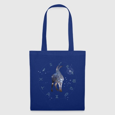 capricorn universe constellation astrology star-shaped - Tote Bag