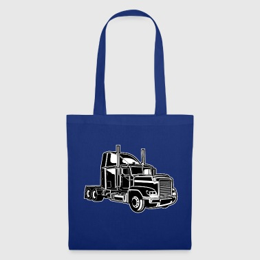 Camion / camion 02_schwarz blanc - Tote Bag