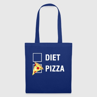 Dieta de pizza VS Food Lover - Bolsa de tela