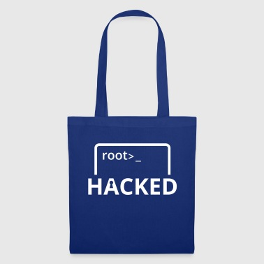 Hacked Hacker Admin Nerd Software Linux Windows - Stoffbeutel