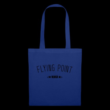Idea regalo di lettering Flying Point Beach - Borsa di stoffa