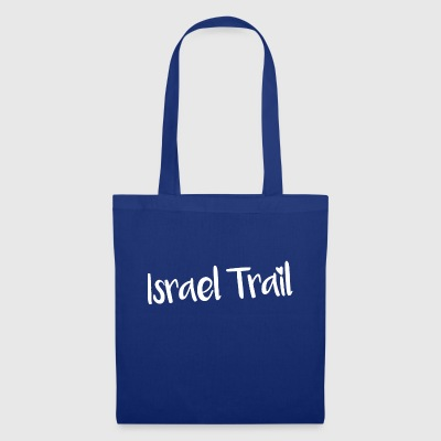 Israël Trail lettrage blanc - Tote Bag