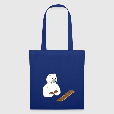 ours gourmand - Tote Bag