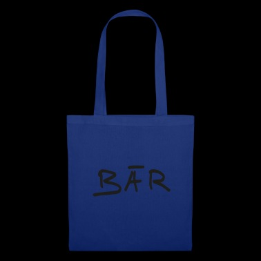 Lettres d'ours - Tote Bag