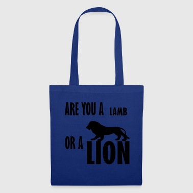are you a lamb - Tote Bag