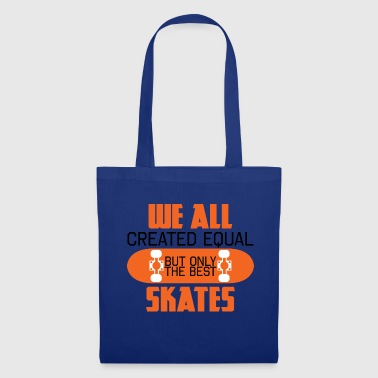 Skater - Skateboard - Geschenk - We All Created - Stoffbeutel