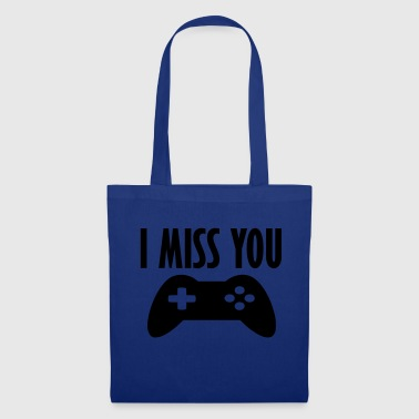 i miss you game - Tote Bag
