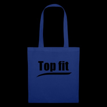 Top fit Statement Sport Training Gym Laufen - Stoffbeutel