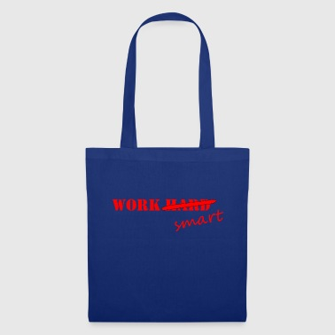 Travail Smart Red - Tote Bag