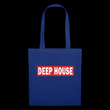 Deep House - Electro Dance Music Techno - Stoffbeutel