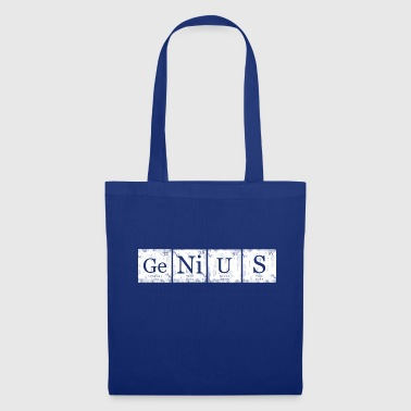 Genius Element Periodic Table Nerd Geek - Bolsa de tela