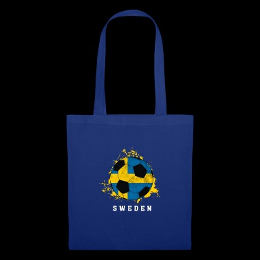 Suède - Football - Tote Bag