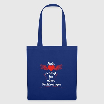 gift heart beats girlfriend textile cleaner - Tote Bag