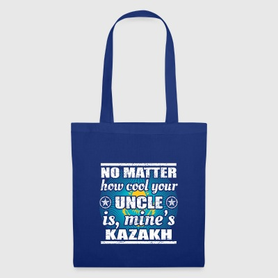 no matter cool uncle onkel gift Kasachstan png - Stoffbeutel