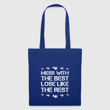 Mess with best loose king queen horn forest horn hobby - Tote Bag