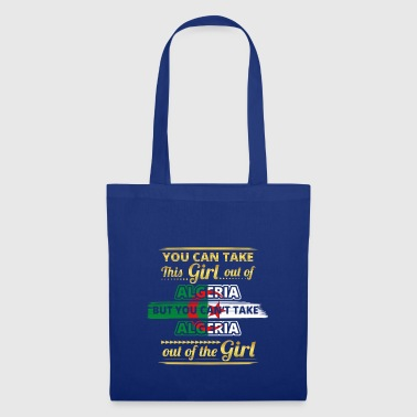 Don de fille origine amour ALGÉRIE - Tote Bag