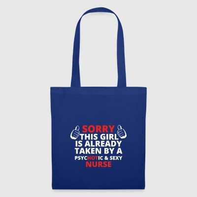 GIFT SORRY THIS GIRL TAKEN NURSE - Tote Bag
