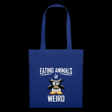 ++ Eating Animals is weird ++ Veggie Shirt Gift - Tote Bag