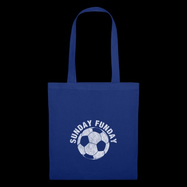 Sunday Funday - Fútbol - Idea de regalo - Bolsa de tela