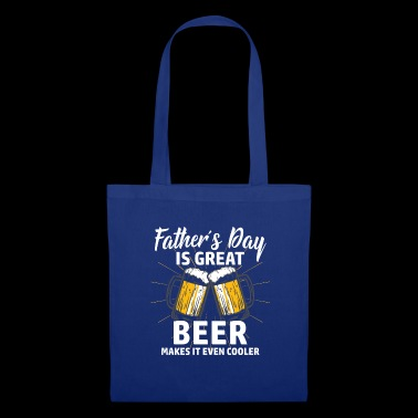 Papa Shirt · Parents · Father's Day · Beer geiler - Tote Bag