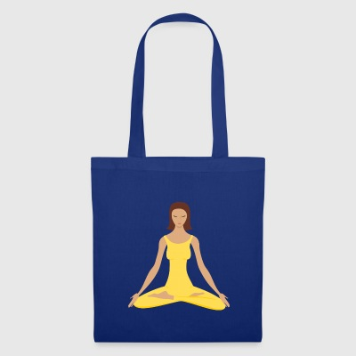 Lisa au yoga - Tote Bag