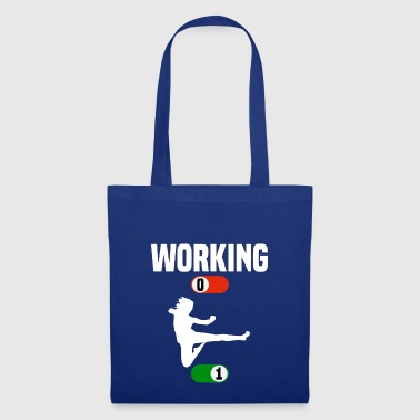 Travail Job OFF ON poison sport karaté - Tote Bag