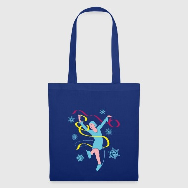 Ice Princess in ice dancing and ice skating - Tote Bag