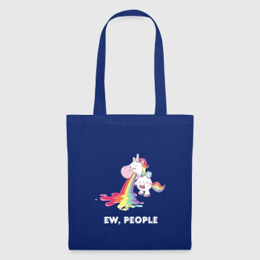 Ew, People, Unicorn - Tote Bag