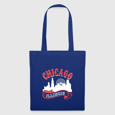 Chicago Illinois Vintage City - Tote Bag