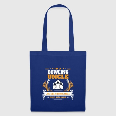Idea del regalo Bowling Uncle Shirt - Bolsa de tela