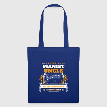 Pianist oncle shirt idée cadeau - Tote Bag