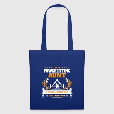 Powerlifting Aunt Shirt Gift Idea - Tote Bag