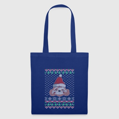 Sloth Ugly Christmas Sweater Gift - Tote Bag