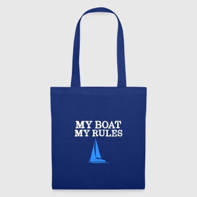 My boat - My rules - Tote Bag