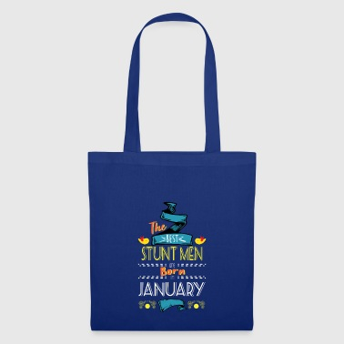 Best Stunt Men are Born in January Gift Idea - Tote Bag