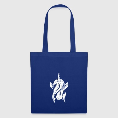 cheval licorne enfants cadeau Cartoon Hornkopf - Tote Bag