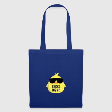 Chicks Dig Me gift for Students - Tote Bag